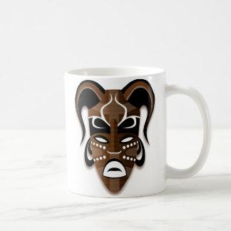 TRIBAL MASK White Mug