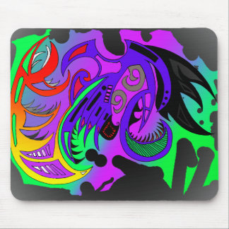 tribal mouse mat