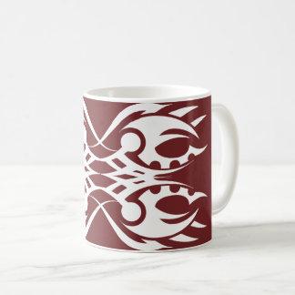 Tribal mug 18 white to over network