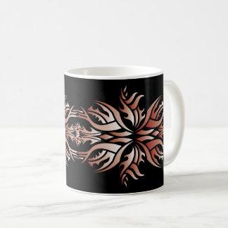 Tribal mug 5 network and white