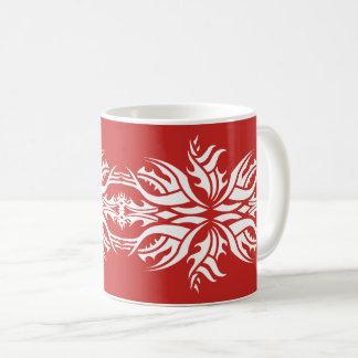 Tribal mug 5 white to over network
