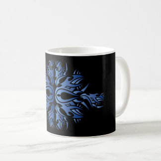 Tribal mug 6 one blue