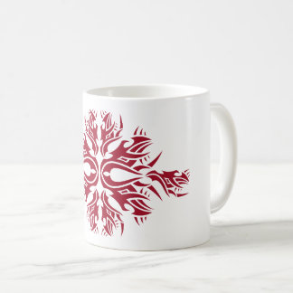 Tribal mug 6 one network to over white