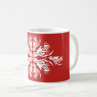 Tribal mug 6 one white to over network