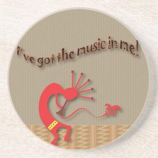 Tribal Musician Coaster