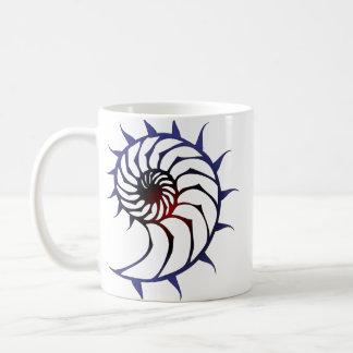 Tribal Nautilus Coffee Mug