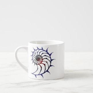 Tribal Nautilus Espresso Cup