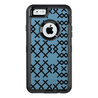 Tribal Niagara Blue Nomad Geometric Shapes OtterBox Defender iPhone Case