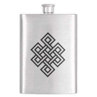 Tribal nó infinite hip flask
