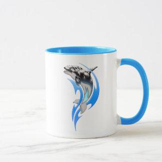 Tribal Orca Combo Mug
