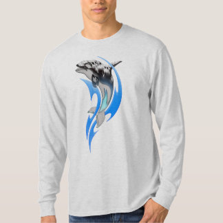 Tribal Orca Long Sleeve T-Shirt