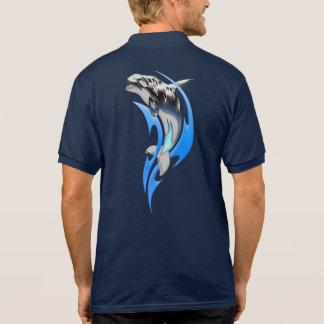 Tribal Orca Polo Shirt