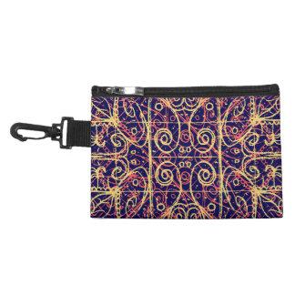 Tribal Ornate Pattern Accessories Bag