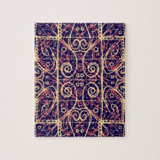 Tribal Ornate Pattern Jigsaw Puzzle