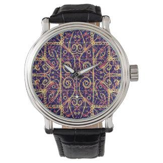 Tribal Ornate Pattern Watch