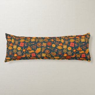 Tribal Pattern Body Cushion