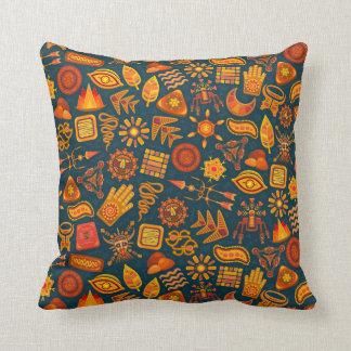 Tribal Pattern Cushion