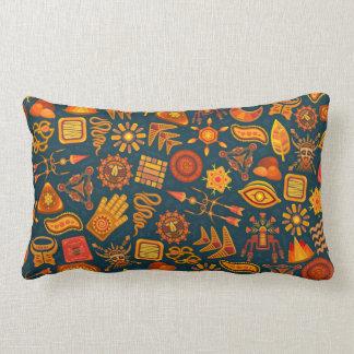Tribal Pattern Lumbar Cushion