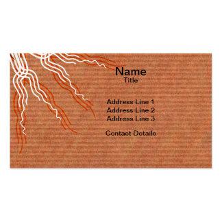 Tribal Pattern Mandala 2 Business Card Templates