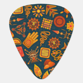 Tribal Pattern Plectrum