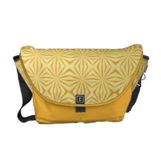 Tribal Pattern Rickshaw Messenger Bag