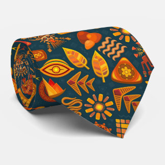 Tribal Pattern Tie