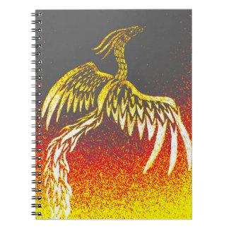 Tribal Phoenix Notebook