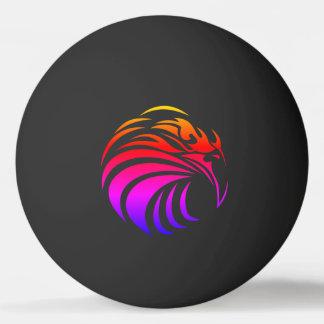 Tribal Rainbow Eagle Ping Pong Ball