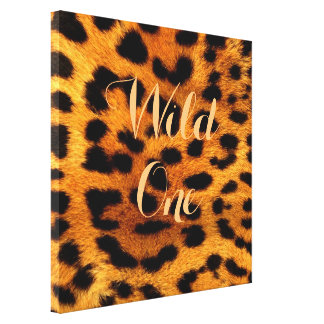 tribal safari animal leopard print wild one