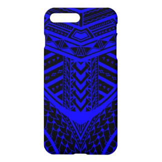 Tribal Samoan tattoo design in symmetry iPhone 7 Plus Case