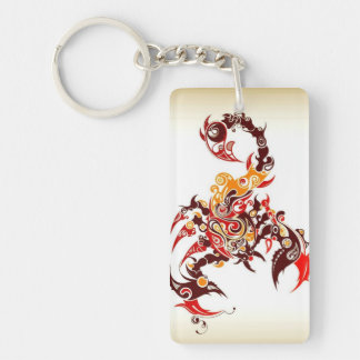 Tribal Scorpio Key Ring