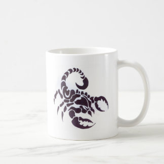 Tribal scorpion coffee mug