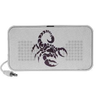 Tribal scorpion speaker