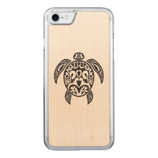 Tribal Sea Turtle Carved iPhone 8/7 Case