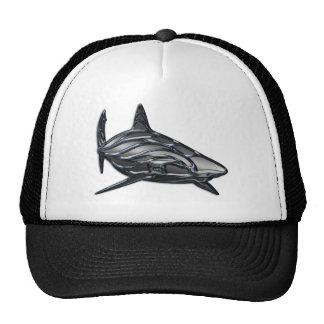 Tribal Shark Trucker Hats