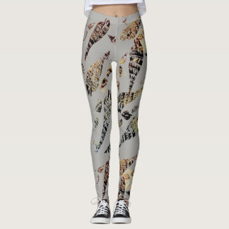 Tribal Shells Leggings