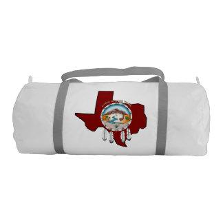 Tribal Shield/ Texas Gym Duffle Bag