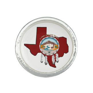 Tribal Shield/Texas Round Ring