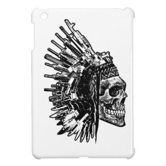 Tribal Skull, Guns and Knives Ipad Case