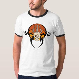 Tribal Skull Tattoo T-Shirt