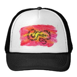 Tribal snake hats