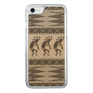 Tribal Southwest Design Kokopelli Phone Carved iPhone 8/7 Case