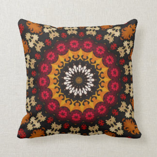 Tribal Southwest Geometric Boho Pattern Cushion