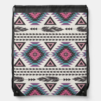 Tribal Spirit Drawstring Bag
