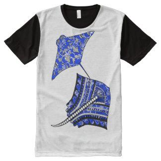 Tribal Stingrays All-Over Print T-Shirt