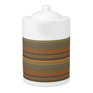 Tribal striped abstract pattern design
