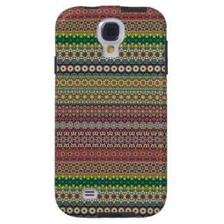 Tribal striped abstract pattern design galaxy s4 case
