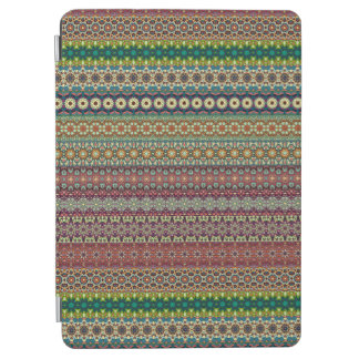 Tribal striped abstract pattern design iPad air cover