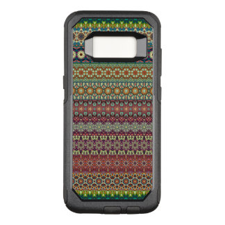 Tribal striped abstract pattern design OtterBox commuter samsung galaxy s8 case