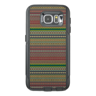 Tribal striped abstract pattern design OtterBox samsung galaxy s6 case